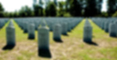 Picture of a part of the Florida National Cemetery in Bushnell, Florida as a fine art print for the wall of your home or office.