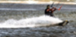 Kitesurfing as a fine art print for the walls of your home or office.