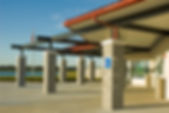 Picture of the entryway of the Lakewood Ranch Post Office in Florida, designed by mag4 as a fine art print for the wall of your home or office.