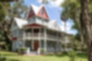 The May-Stringer House in Brooksvile, Floria as a fine art print for the walls of your home or office.