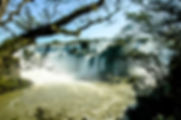 Picture of a section of Iguazu Falls in Argentina as a fine art nature print for the wall of your home or office.