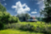 Picture of an old barn in a Manatee County, Florida pasture near Palmetto as a fine art print for the wall of your home or office.