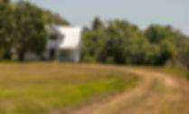 A farm house atop Le Heup Hill in Pasco County as a fine art print for the walls of your home or office.