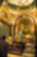 Picture of one apse in the National Cathedral in Buenos Aired, Argentina as a fine art print for the wall of your home or office.