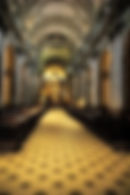 Picture of the main aisle of the National Cathedral in Buenos Aires, Argentina as a fine art print for the wall of your home or office.
