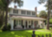 A beautiful home built circa 1905-8, with a well kept yard, at 38 Irene Street in Brooksville, Florida as a fine art print for the walls of your home or office.