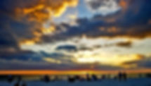 Picture of a sunset at Siesta Key, Florida as a fine art nature print for the wall of your home or office.