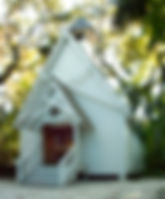 Picture of Mary's Chapel in Spanish Pointe, Florida as a fine art print for the wall of your home or office.