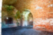 Picture of interior of Ft. Morgan as a fine art  print for the walls of your home or office.