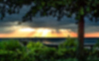 Picture of a sunset over Tampa Bay as seen from Bahia Beach, in Ruskin, Florida as a fine art nature print for the wall of your home or office.