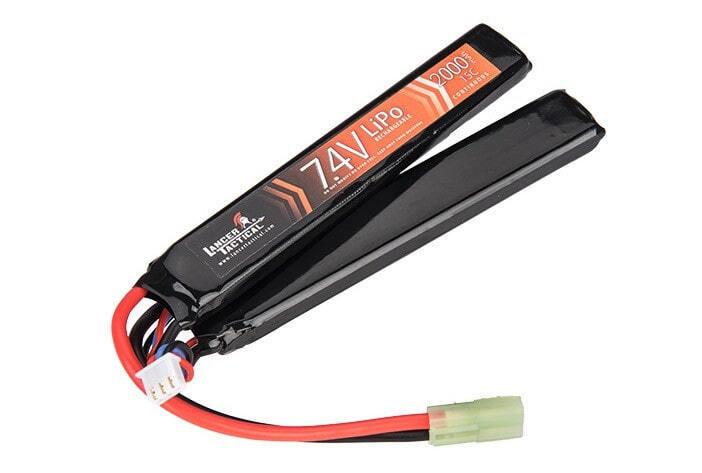 Batterie Lipo 7,4V 2000mAh 15C double stick