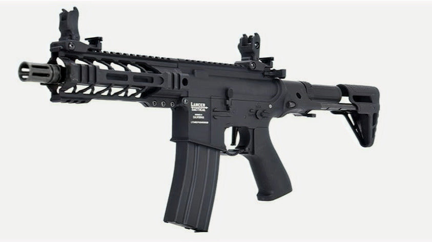 Lancer Tactical Enforcer Battle Hawk PDW 7'TAN