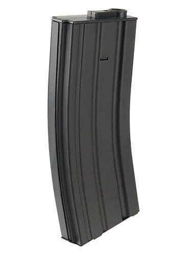 Chargeur Mid-cap métal 120 billes pour M4 AEG