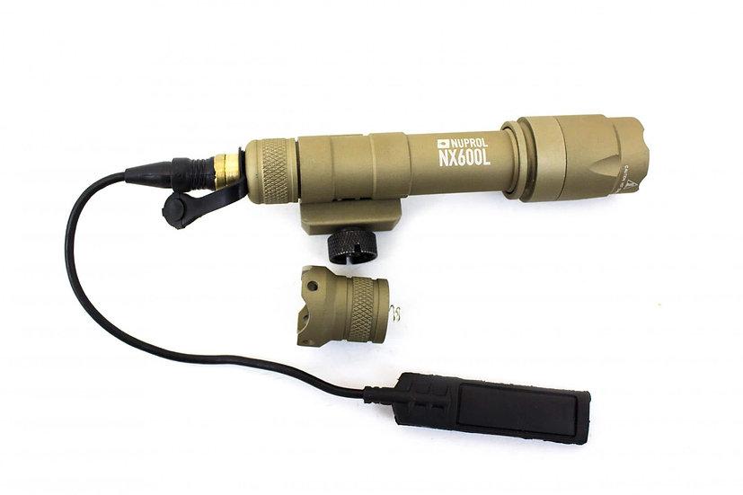 Lampe tactical  nx600l tan - Nuprol
