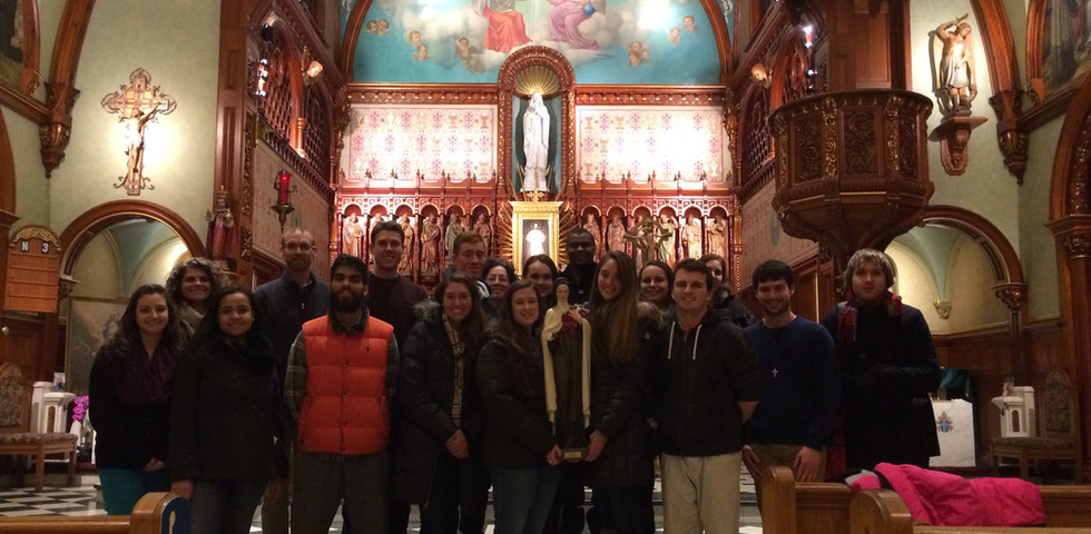 Pilgrimage: National Shrine of Divine Mercy