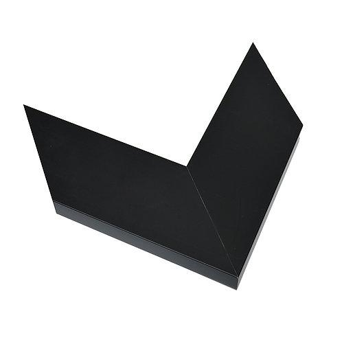 Marco de PVC Negro Italia