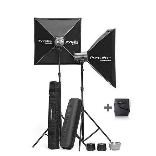 Flashes electrónicos con accesorios D-LITE RX 2