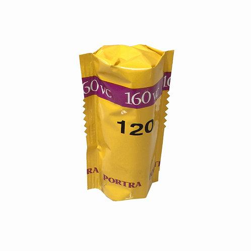 Película PORTRA KODAK 120mm 160VC Color