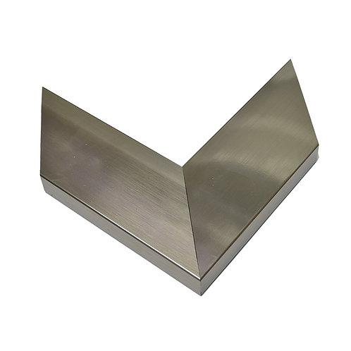 Marco de PVC Titanio Espejo
