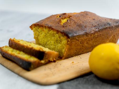 Cake citron/graine de pavot