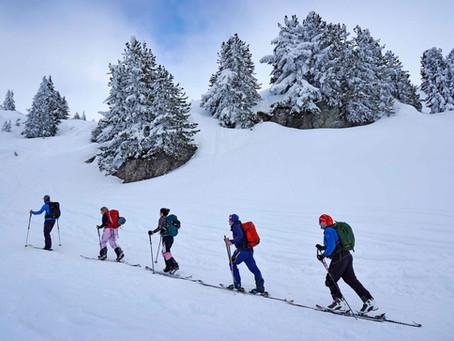 VERBIER : Initiation au ski de randonnée (split-board)