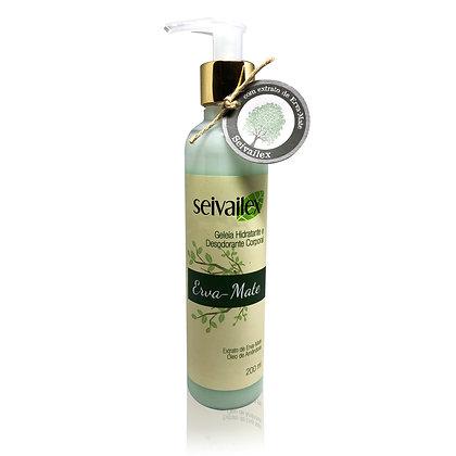 Geleia Hidratante e Desodorante Corporal Erva-Mate Seivailex 200ml