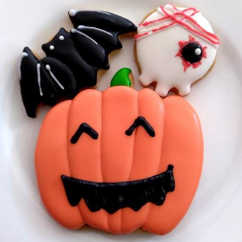 【10月限定商品】ハロウィーン風アイシングクッキー