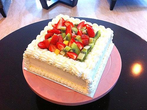 イチゴのホールケーキ・生クリーム(■サイズ)