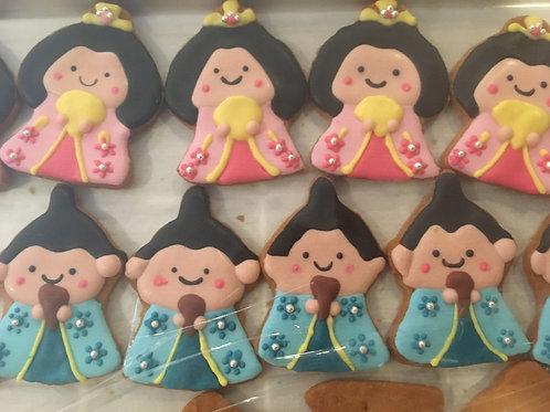 【3月限定品】ひな祭りアイシングクッキー