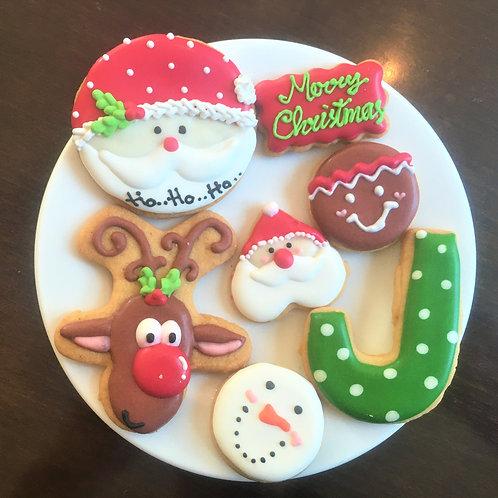 【12月限定商品】クリスマスアイシングクッキー
