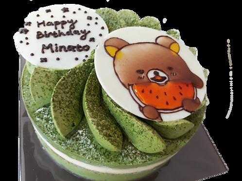 抹茶のホールケーキ(●サイズ)