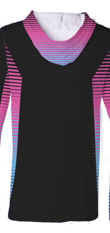 2018 UDC Hooded Jersey Black Back