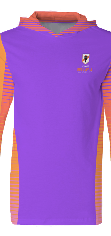 2018 UDC Hooded Jersey Purple Front