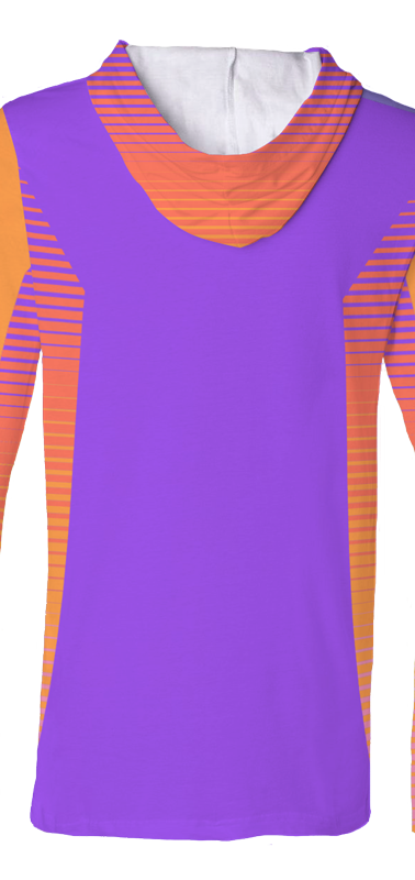 2018 UDC Hooded Jersey Purple Back