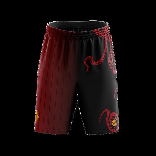 Kraken Red Shorts