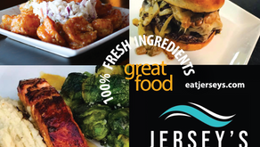 Save 15% off Food at Jersey's