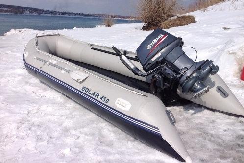 """Лодка надувная транц. """"Солар-450 МК"""""""
