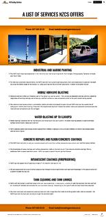 Services Sheet