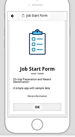 Job Start H&S app