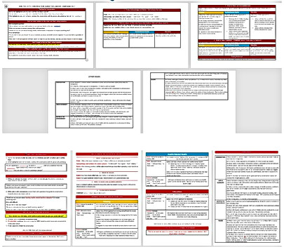 Training Material Formating