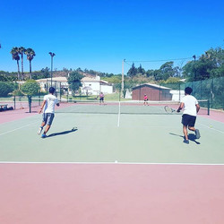 Day 2! #tennis #tennisholiday #doubles #