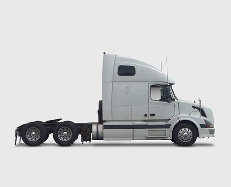 White Commercial Truck