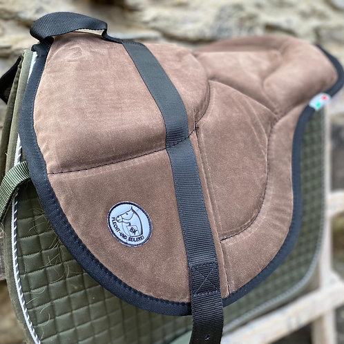 Barebackpad English Style Ultra Light Leder