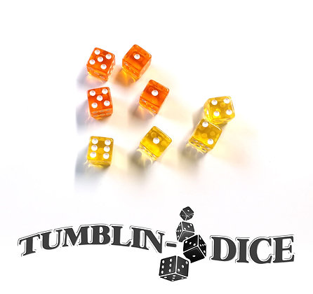 Tumblin-Dice - Extension Dés/Dice Expansion x8 J-O