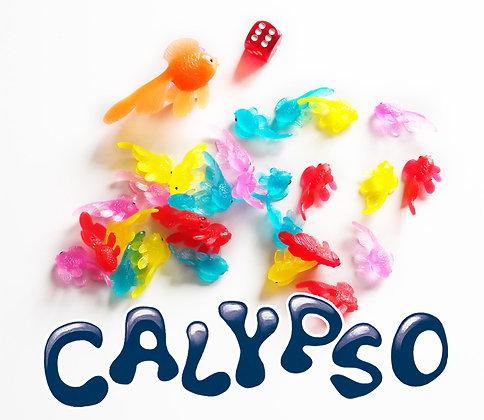Calypso - Filet de 30 poissons, Calypso, 1 dé
