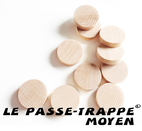Passe-Trappe Moyen - Palets/Discs x10