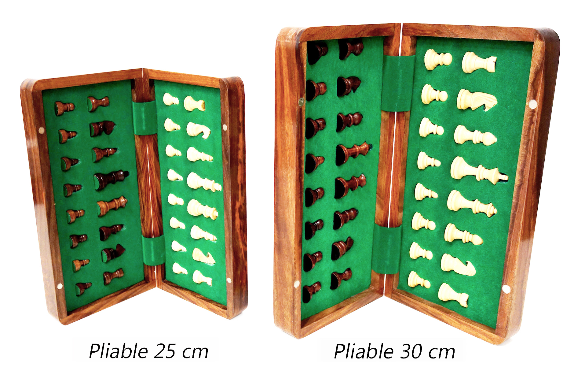 Pliable 30cm  vs Pliable 25cm ouvert