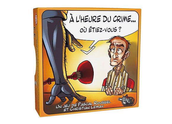 À l'Heure du Crime...