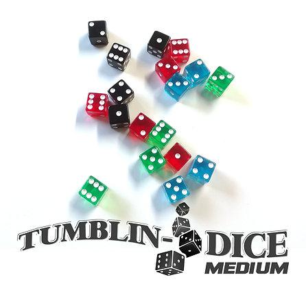 Tumblin Dice Medium - Dés Base/Dice main game x18