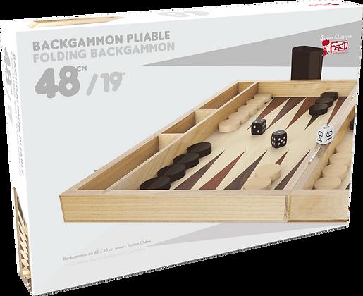 Le Backgammon 48cm - Bois
